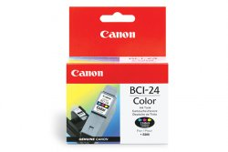 Canon BCI-24C - 6882A002 - Tinte cyan, magenta, gelb - für BJ-s200 S330; i45X; PIXMA iP1000 iP1500 iP2000 MP110 MP130; S200; SmartBase MP360