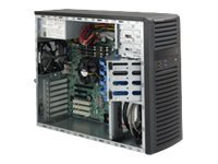 Supermicro 732D4-903B Mid-Tower 900W Black Workstation Case with 900W 80PLUS Gold Power Supply ( CSE-732D4-903B )