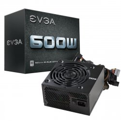 EVGA 600W power supply unit ATX Black ( 100-W1-0600-K2 )