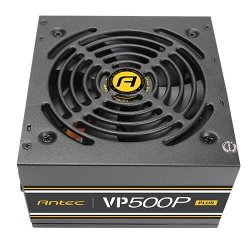 Antec VP500P Plus EC power supply unit 500 W ATX Black ( 0-761345-11651-0 )