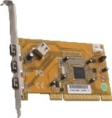 Dawicontrol DC-1394 PCI interface cards/adapter ( DC-1394 PCI BLISTER )