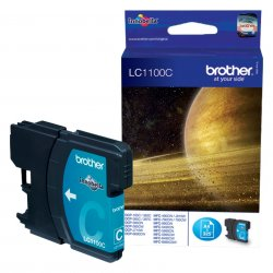 Brother LC-1100C - Tinte cyan - für DCP-185 385 395 585 J715 MFC-490 5490 5890 5895 6890 790 795 990 J615