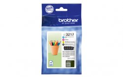 Brother LC-3217  Black,Cyan,Magenta,Yellow Multipack ( LC-3217VALDR )