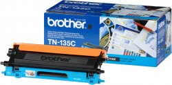 brother TN-135C - Toner cyan - für DCP-9040 9042 9045 HL-4040 4050 4070 MFC-9420 9440 9450 9840