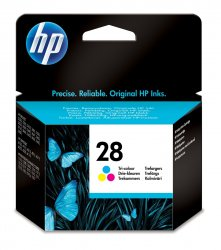 HP 28  Cyan,Magenta,Yellow 1 pc(s) ( C8728AE )