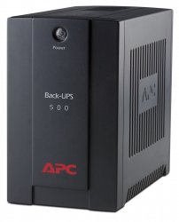 APC Back-UPS uninterruptible power supply (UPS) Line-Interactive 500 VA 300 W 3 AC outlet(s) ( BX500CI )