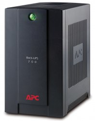 APC Back-UPS uninterruptible power supply (UPS) Line-Interactive 700 VA 390 W 4 AC outlet(s) ( BX700U-GR )