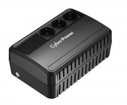 CyberPower BU650E uninterruptible power supply (UPS) Line-Interactive 650 VA 360 W 3 AC outlet(s) ( BU650E )