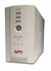 APC Back-UPS uninterruptible power supply (UPS) Standby (Offline) 500 VA 300 W 4 AC outlet(s) ( BK500EI )