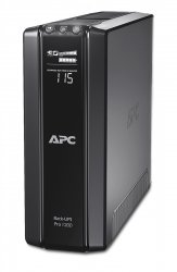 APC Back-UPS Pro uninterruptible power supply (UPS) Line-Interactive 1200 VA 720 W ( BR1200G-GR )