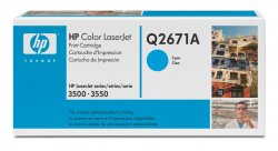 HP 309A Cyan Original LaserJet Toner Cartridge ( Q2671A )
