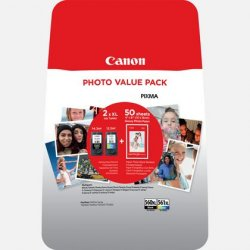 Canon PG-560XL/CL-561XL Photo Value Pack - 3712C004 - 2x Tinte KCMY + Papier - für PIXMA TS5350 TS5351 TS5352 TS5353