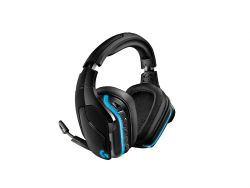 Logitech G G935 Headset Head-band Black, Blue 3.5 mm connector Micro-USB ( 981-000744 )