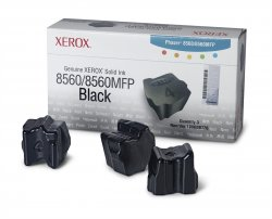 Xerox Genuine Solid Ink 8560Mfp/8560 Black (3,400 Pages) ( 108R00726 )