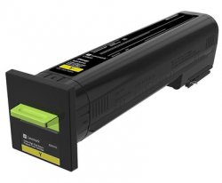 Lexmark 72K20YE toner cartridge  Yellow 1 pc(s) ( 72K20YE )