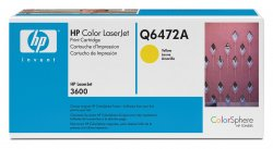 Hewlett-Packard HP 502A yellow ( Q6472A )