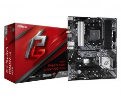 Asrock B550 Phantom Gaming 4/ac Socket AM4 ATX AMD B550 ( 90-MXBDZ0-A0UAYZ )