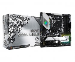 Asrock B550M Steel Legend Socket AM4 Micro ATX AMD B550 ( 90-MXBCU0-A0UAYZ )