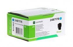 Lexmark 24B7178 toner cartridge  Cyan 1 pc(s) ( 24B7178 )