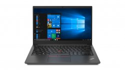Lenovo ThinkPad E14 DDR4-SDRAM Notebook 35.6 cm (14) 1920 x 1080 pixels 11th gen Intel® Core i7 16 GB 512 GB SSD Wi-Fi 6 (802.11ax) Windows 10 Pro Black ( 20TA000DGE )