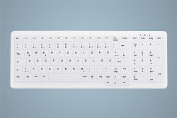 Active Key AK-C7000 keyboard RF Wireless + USB White ( AK-C7000F-FU1-W/GE )