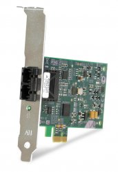 Allied Telesis 100FX Desktop PCI-e Fiber Network Adapter Card w/PCI Express, Federal & Government 100 Mbit/s ( AT-2711FX/ST-901 )