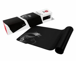 MSI AGILITY GD70 Pro Gaming Mousepad 900mm x 400mm, Pro Gamer Silk Surface, Iconic Dragon Design, Anti-slip and shock-absorbing rubber base, Reinforced stitched edges ( AGILITY GD70 )