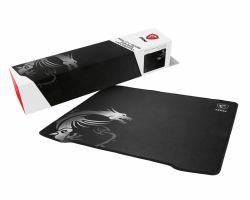 MSI AGILITY GD30 Pro Gaming Mousepad 450mm x 400mm, Pro Gamer Silk Surface, Iconic Dragon Design, Anti-slip and shock-absorbing rubber base, Reinforced stitched edges ( AGILITY GD30 )