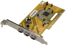 Dawicontrol DC-1394 PCI FireWire Controller interface cards/adapter ( DC-1394 )